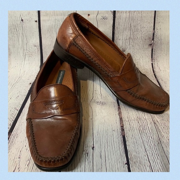 Bostonian Moc Penny Loafers Brown 9.5